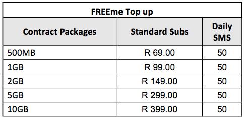 Freeme Topup Telkom Deal