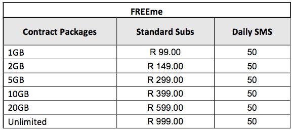 FREEme telkom contracts